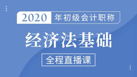 2020年初级经济法精讲班第七讲